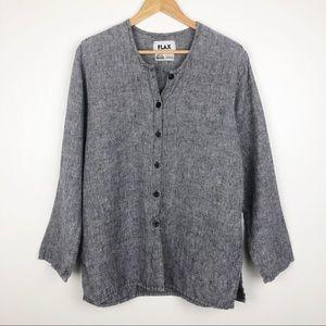 FLAX Long Sleeve Linen Shirt